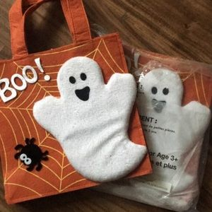 🎃 A little felt HALLOWEEN 🎃 ghostly bag for kids